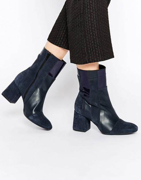 Xu hướng thời trang mới: Giày nữ đế loe 12