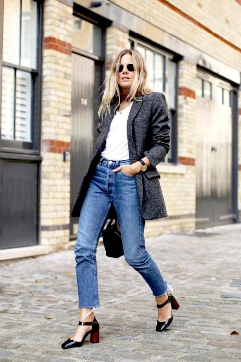 Xu hướng thời trang mới: Giày nữ đế loe 7