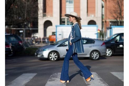 Xu hướng thời trang mới: Giày nữ đế loe 8