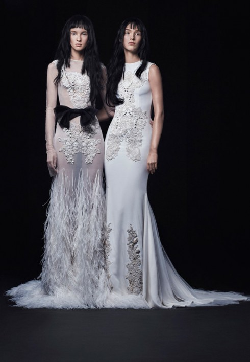 Bộ sưu tập áo cưới Vera Wang mùa Thu 2016