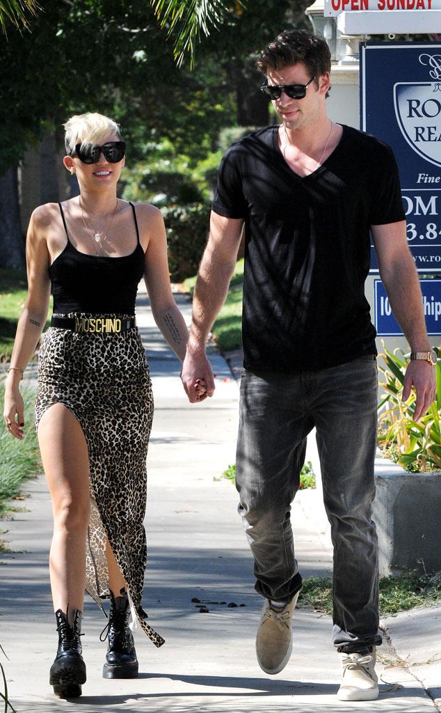 Miley Cyrus chuyển về sống cùng Liam Hemsworth