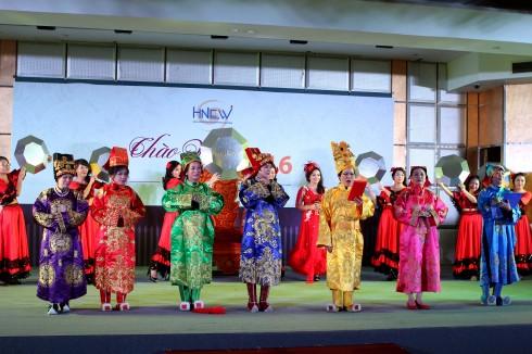 Các màn trình diễn nghệ thuật đặc sắc đến từ các nhóm ngành nghề của HNEW.