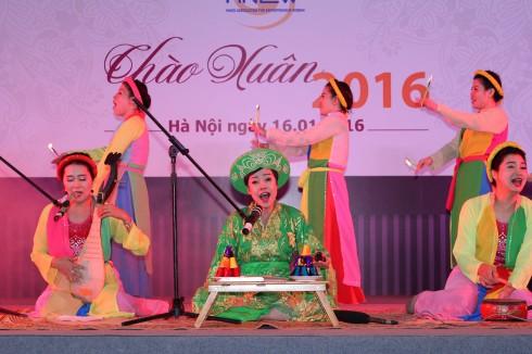 Nhóm MS - Giải pháp truyền thông mang đến tiết mục hát Chầu Văn đặc sắc.