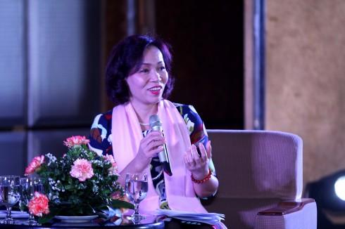 Bà Hà Thu Thanh – Chủ tịch HNEW đề cao Đạo đức kinh doanh của mỗi doanh nghiệp trong thời kỳ hội nhập.