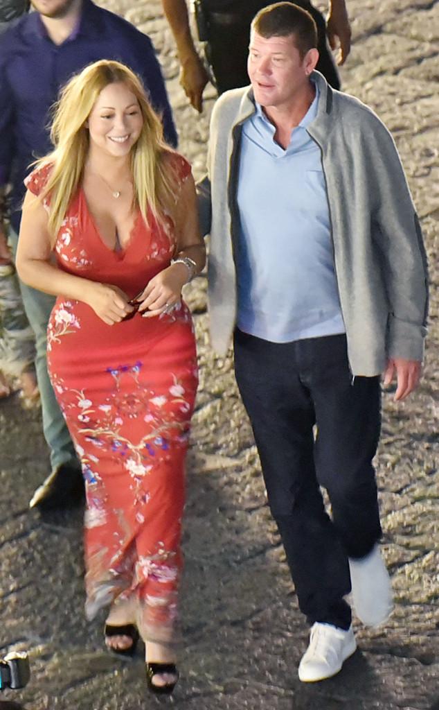 Mariah Carey đính hôn với tỷ phú người Úc James Packer