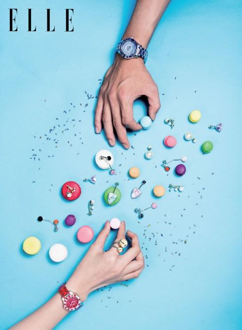 Đồng hồ Dior Christal (cho nam và nữ) và nhẫn đeo tay, hoa tai DIOR
