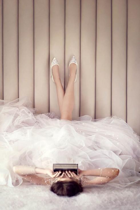Alina - tên gọi nữ tính mà Jimmy Choo trân trọng đặt cho từng mẫu giày thiết kế của mình.