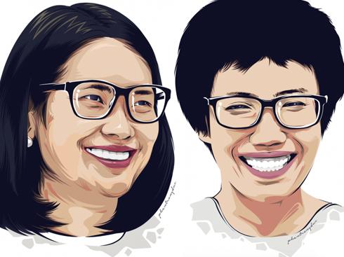 Na Hương & Chị Mai Anh – Thiện Nhân và những người bạn elle vietnam photo