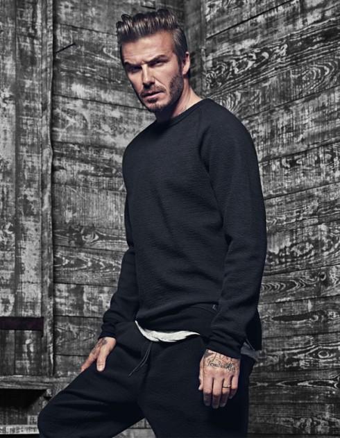 David Beckham & H&M 3 - elle vietnam