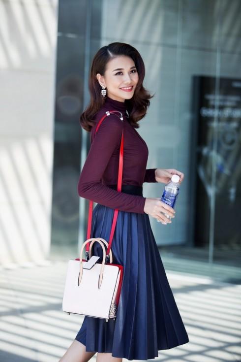 Người mẫu Thanh Hằng