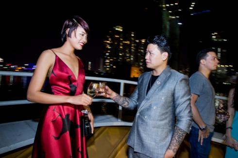 NTK Hoàng Minh Hà và Nguyễn Hợp, Á quân cuộc thi Vietnam's Next Top Model 2015, sau sau cuộc thi Nguyễn Hợp tham gia nhiều hoạt động thời trang hơn.