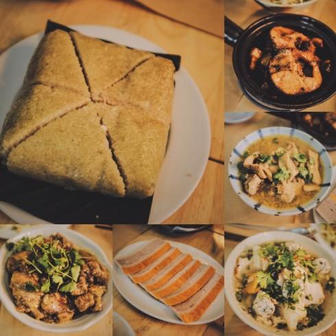 Một số món ăn không thể thiếu trong mâm cỗ truyền thống ngày Tết được Nhà 9NKC chăm chút bằng cả tấm lòng.