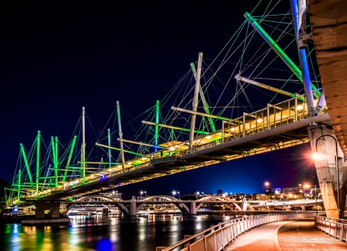 Cầu Kurilpa tại Úc