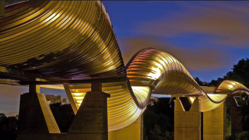 Cầu Henderson Waves ở Singapore