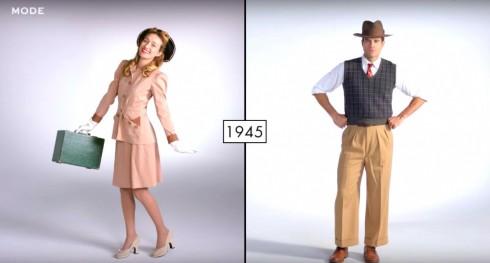 1940s: Phong cách cổ điển hiện đại