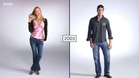 2000s với sự quyến rũ trong thời trang