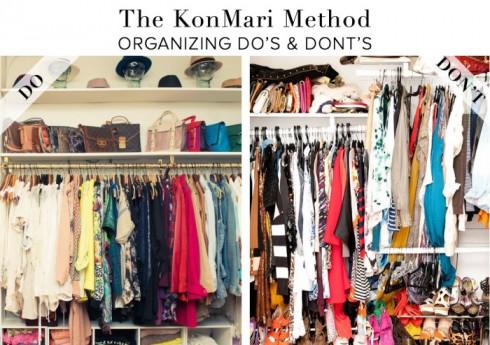 học cách dọn tủ quần áo từ Marie Kondo - ELLE.VN