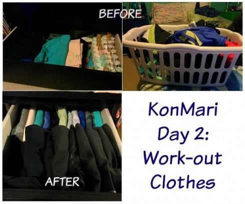 Học cách dọn tủ quần áo từ Marie Kondo