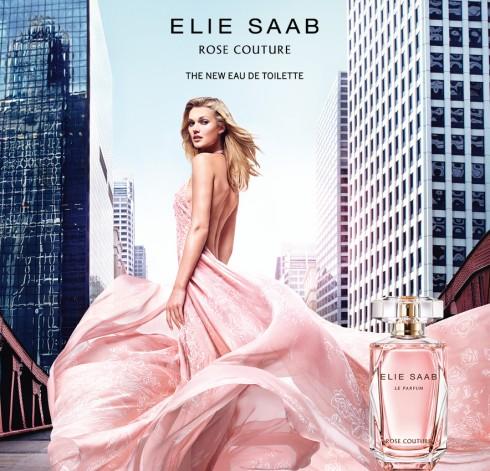Elie Saab đã vay mượn hình ảnh của những đóa hoa đang tỏa hương ngào ngạt