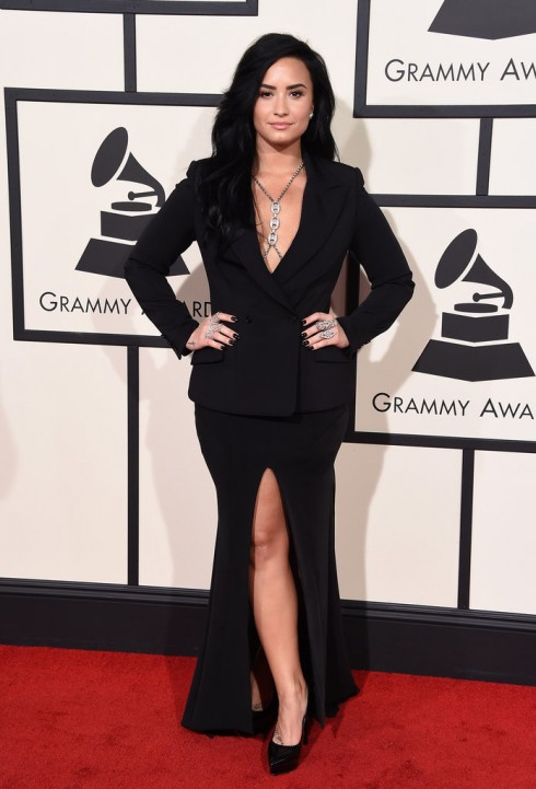 Demi-Lovato-Grammy-bestdressed-2016