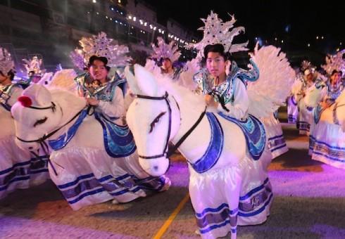 Đây là một trong những hoạt động văn hóa tiêu biểu cho dịp Tết Nguyên Đán tại Singapore.