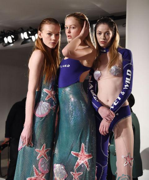 Các bộ trang phục xuyên thấu tại tuần lễ thời trang Thu - Đông New York 2016