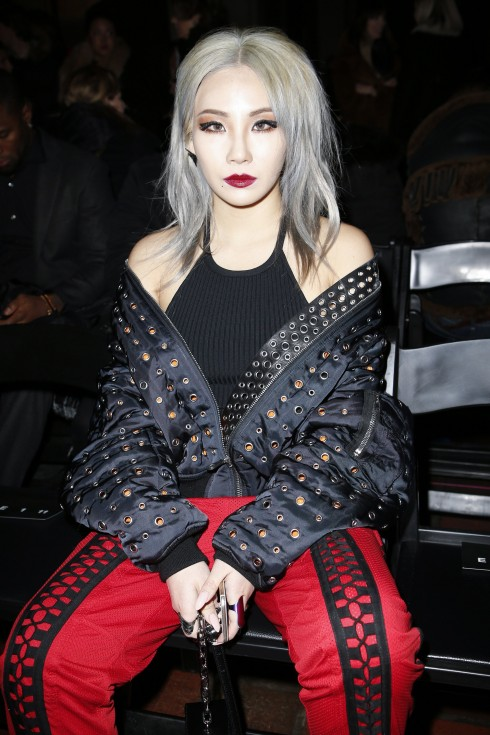 Ca sĩ CL tại show diễn Alexander Wang