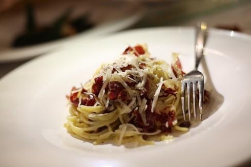 Các món ăn tinh tế, đậm hương vị Italy.