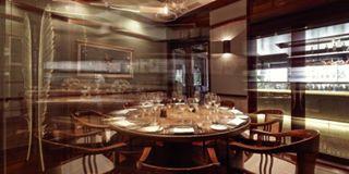nhà hàng La Table du Chef, nơi lần đầu tiên ngoài nước Pháp ông thể hiện sự tinh túy của nghệ thuật ẩm thực Pháp