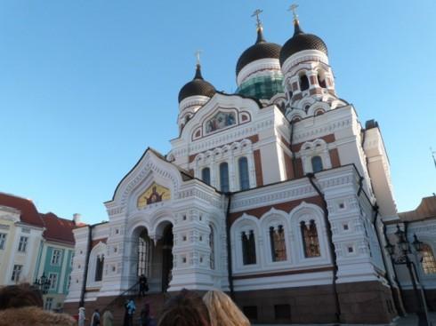du lịch châu âu phần 1 - nhà thờ Alexander Nevsky - elle vietnam