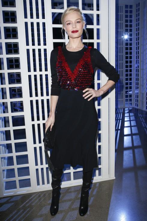 Người mẫu/ Diễn viên Kate Bosworth tại show diễn Altuzarra
