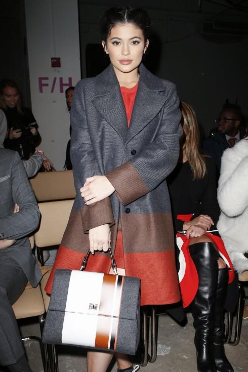 Người mẫu Kylie Jenner tại show diễn của Boss