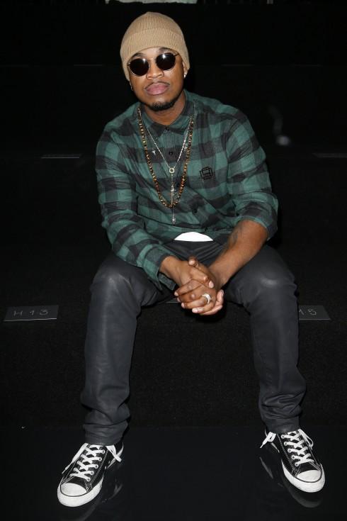 Ca sĩ Ne-Yo tại show diễn Fenty x Puma
