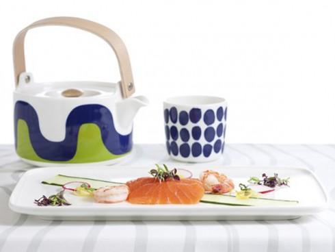 thương hiệu thời trang Marimekko - Finnair airway's foods - elle vietnam
