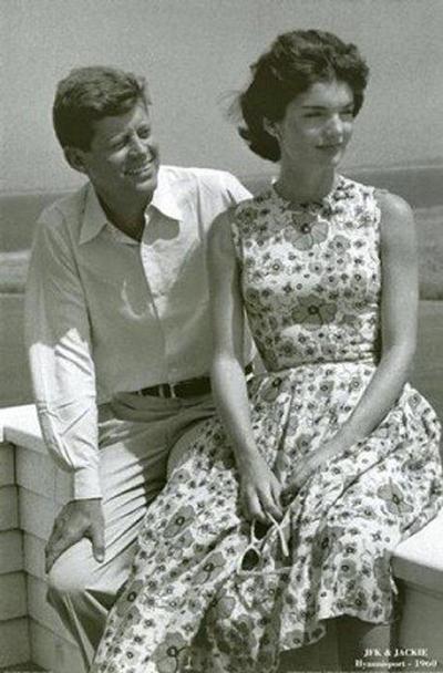 thương hiệu thời trang Marimekko - Jacqueline Kennedy - elle vietnam