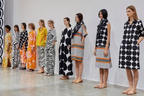 thương hiệu thời trang Marimekko - SS2016 Paris - elle vietnam