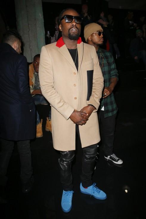 Rapper Wale tại show diễn Fenty x Puma