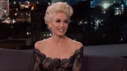 Gwen Stefani thổ lộ chuyện tình cảm hạnh phúc trong chương trình Jimmy Kimmel Live