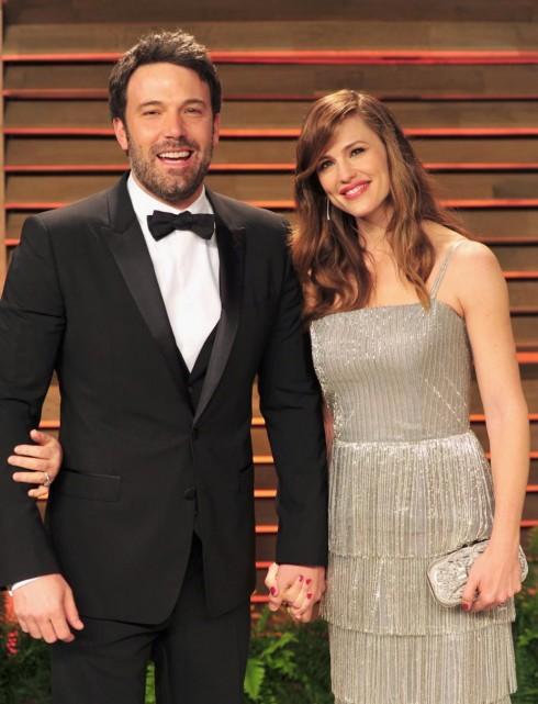 Jennifer Garner và Ben Affleck tại giải thưởng Oscar năm 2014