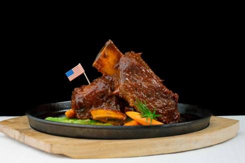 Thịt được nêm nếm cẩn thận và chế biến hoàn hảo