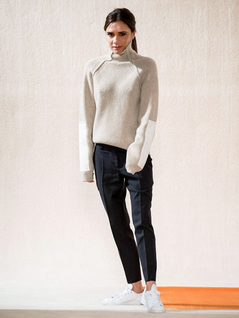 Victoria Beckham khép lại phần trình diễn bộ sưu tập tại New York Fashion Week