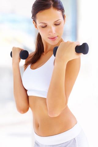 3 bài tập giúp phái đẹp giảm mỡ bắp tay
