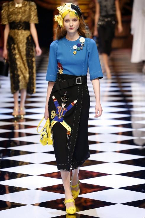 Những chiếc váy bút chì (wiggle dress) của Dolce & Gabbana