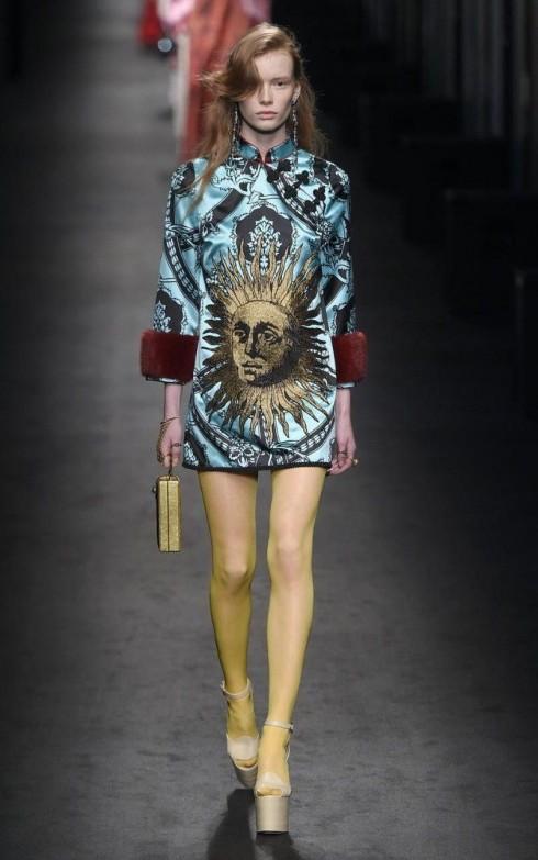 Một mẫu thiết kế mang phong cách hội hoạ phục hưng từ Gucci