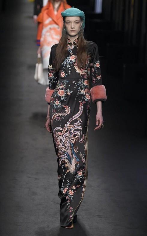 Một mẫu thiết kế khác trong BST Thu-Đông của Gucci