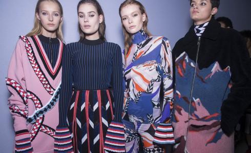 Phong cách thời trang nhất quán xuyên suốt BST của Pucci tại Tuần lễ thời trang Milan năm nay.