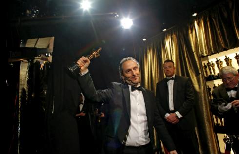 """Emmanuel Lubezki, quay phim xuất sắc nhất trong """"The Revenant""""."""