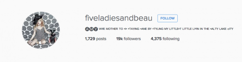 Five Ladies And Beau