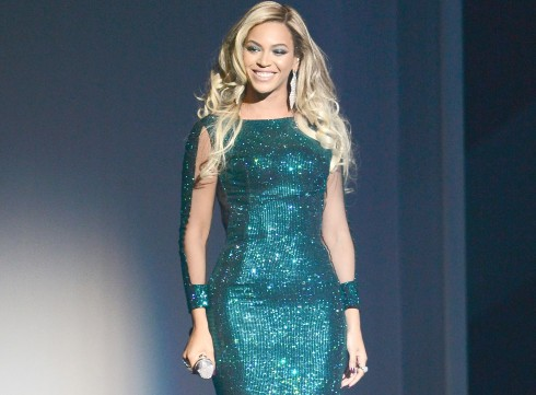 BEYONCÉ The Queen!<br/>LONDON, ENGLAND - FEBRUARY 19:  Beyonce  performs at The BRIT Awards 2014 at 02 Arena on February 19, 2014 in London, England.  (Photo by Ian Gavan/Getty Images)