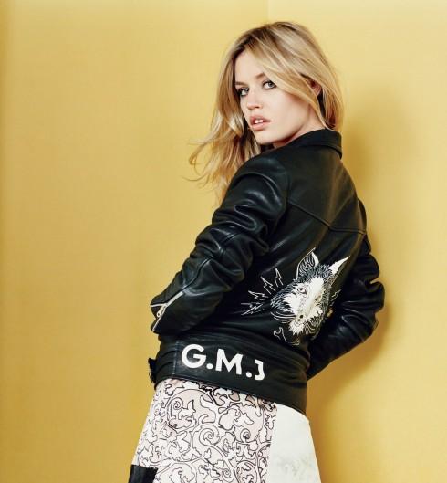 GEORGIA MYA JAGGER: Cô là một phiên bản của Brigitte Bardot, thừa hưởng vẻ đẹp của bà Jerry Hall và cha Mick Jagger của nhóm Rolling Stones. Georgia là cô nàng Anh quốc chính hiệu.